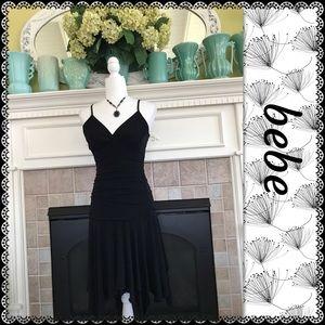 bebe little black dress, size M